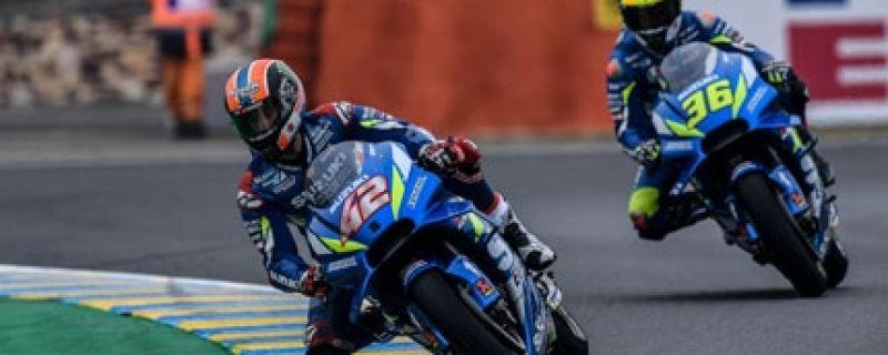Top Ten de Suzuki en el Gran Premio de Francia
